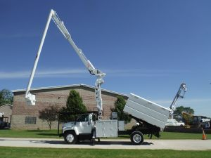 2004 GMC C7500 11 FT SOUTHCO FORESTRY BODY 75 FT WORK HEIGHT ALTEC LRV60-70 ELEVATOR COMING SOON