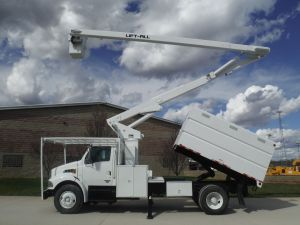 2006 STERLING ACTERRA 11 FT SOUTHCO FORESTRY BODY 65 FT WORK HEIGHT LIFT-ALL LSS-60-1S