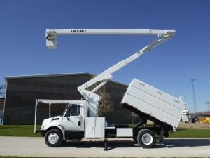 2006 INTERNATIONAL 4300 65 FT WORK HEIGHT LIFT-ALL LSS-60-1S MODEL BOOM