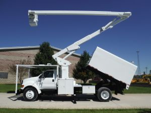 2007 FORD 11 FT ARBORTECH FORESTRY BODY 65 FT WORK HEIGHT LIFT ALL LSS-60-15 MODEL BOOM