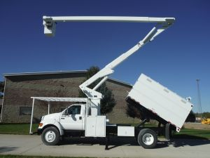 2006 FORD F750 11 FT FORESTRY BODY 65 FT LIFT ALL LSS-60-1S