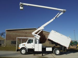 2006 STERLING ACTERRA 11 FT  FORESTRY BODY 65 FT WORK HEIGHT LIFT-ALL LSS-60-1S