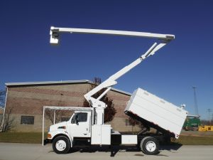 2006 STERLING ACTERRA 11 FT SOUTHCO FORESTRY 65 FT WORK HEIGHT LIFT ALL MODEL BOOM