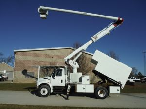 2009 INTERNATIONAL DURASTAR 11 FT ARBORTECH FORESTRY BODY 60 FT WORK HEIGHT ALTEC LRV 60 MODEL BOOM - BUCKET TRUCK CALL FOR PRICE
