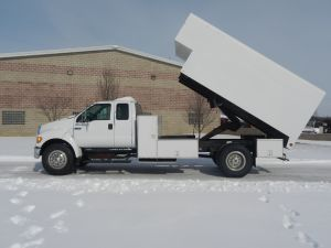 2008 FORD F750 12 FT ARBORTECH CHIP BOX