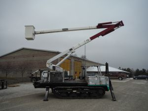 2004 IHI TRAC MACHINE 60 FT WORK HEIGHT TEREX HI-RANGER XT 55 MODEL BOOM