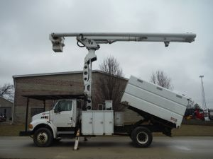 2007 STERLING ACTERRA SOUTHCO FORESTRY BODY 75' WORK HEIGHT ALTEC LRV60-70 - BUCKET TRUCK
