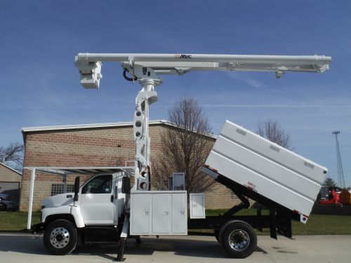 2009 GMC C7500 11' SOUTHCO FORESTRY BODY 75' WORK HEIGHT ALTEC LRV 60-70 ELEVATOR MODEL BOOM