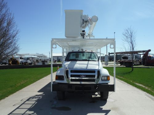2006 FORD F750 11' SOUTHCO FORESTRY BODY 61' WORK HEIGHT ALTEC LRV56