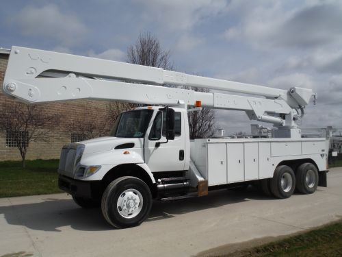 2005 INTERNATIONAL 7400 6X4 18 FT UTILITY BODY 82 FT WORK HEIGHT ALTEC A77-T MODEL BOOM - BUCKET TRUCK