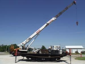 2007 POWER TRAXX 18-IT 162' WORK HEIGHT 30 TON ELLIOTT 30105 MODEL CRANE