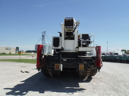 2007 POWER TRAXX 18-IT 162' WORK HEIGHT 30 TON ELLIOTT 30105 MODEL CRANE
