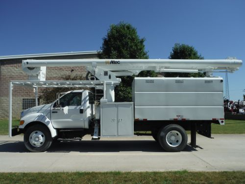 2007 FORD F750 11' SOUTHCO FORESTRY BODY 61' WORK HEIGHT ALTEC LRV56