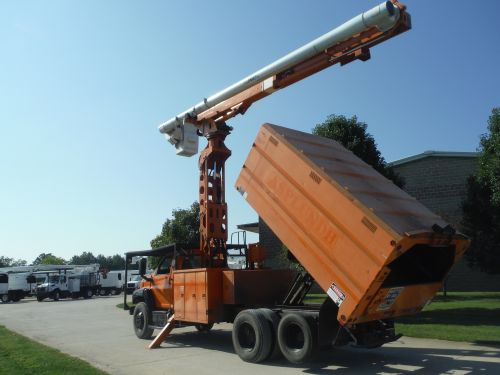 2004 GMC C7500, 14' SOUTHCO FORESTRY BODY, 75' WORK HEIGHT ALTEC LRV60-70 ELEVATOR MODEL BOOM