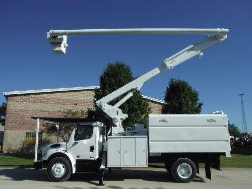 2010 FREIGHTLINER BUSINESS CLASS M2 11' ALTEC FORESTRY BODY 75' ALTEC LRV60-70 ELEVATOR MODEL BOOM