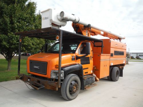2008 GMC C7500 11 FT SOUTHCO FORESTRY BODY 60 FT WORK HEIGHT ALTEC LRV 55 MODEL BOOM