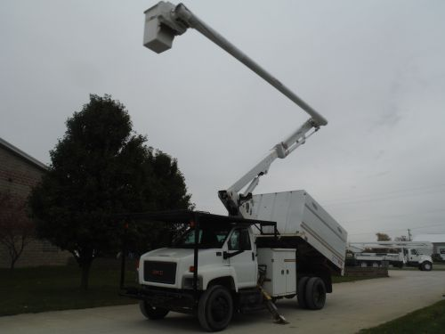 2008 GMC C7500 11 FT SOUTHCO FORESTRY BODY 60 FT WORK HEIGHT ALTEC LRV55 MODEL BOOM