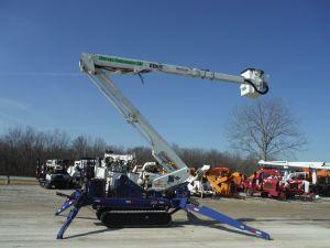 2014 SKYLIFT MINI ARBORIST, 53' WORK HEIGHT VERSALIFT VST52I MODEL BOOM