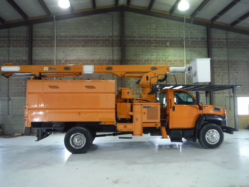 2009 GMC C7500 11 FT SOUTHCO FORESTRY BODY 75 FT WORK HEIGHT ALTEC LRV60-70 ELEVATOR MODEL BOOM