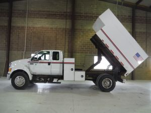 2010 FORD F750 12X6 HIGH CAPACITY CHIP W/L SHAPE TOOL BOXES