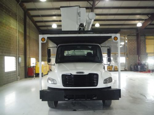2011 FREIGHTLINER M2 106, FORESTRY BODY, 75' WORK HEIGHT ALTEC LRV60-70 ELEVATOR MODEL BOOM
