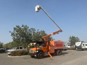 2011 FREIGHTLINER M2 11 FT SOUTHCO FORESTRY BODY 60 FT WORK HEIGHT ALTEC LRV55 MODEL BOOM