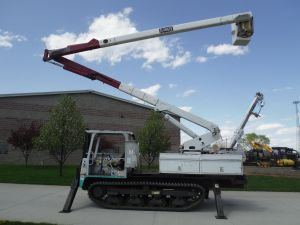 2003 IHI IC45 MODEL 60FT WORK HEIGHT TEREX HI-RANGER XT55 MODEL BOOM